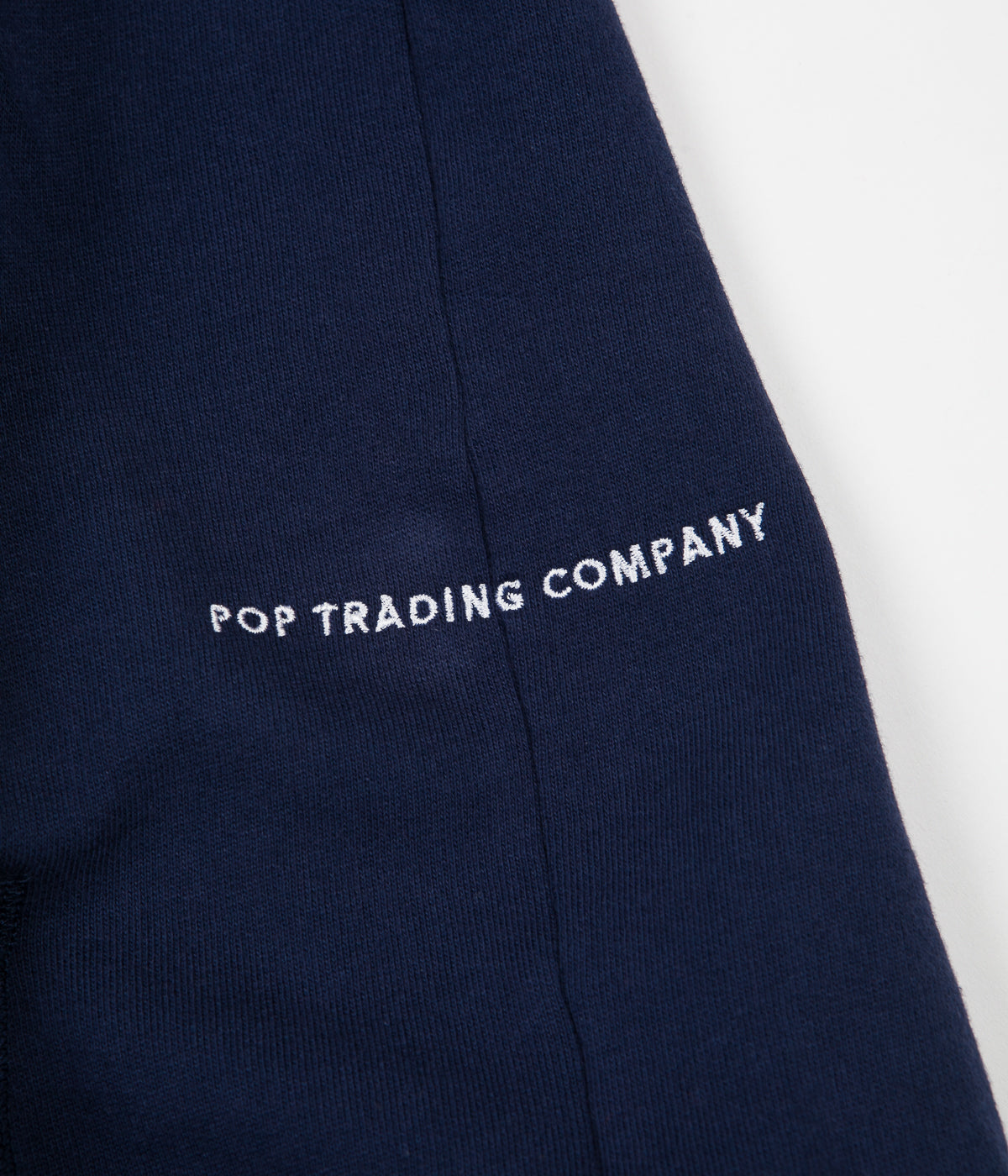 Pop Trading Company Arch Logo Hoodie - Navy