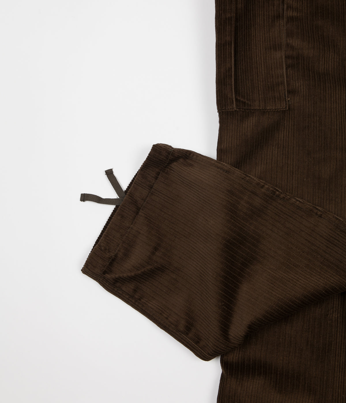 Pop Trading Company Corduroy Cargo Pants - Moss Green
