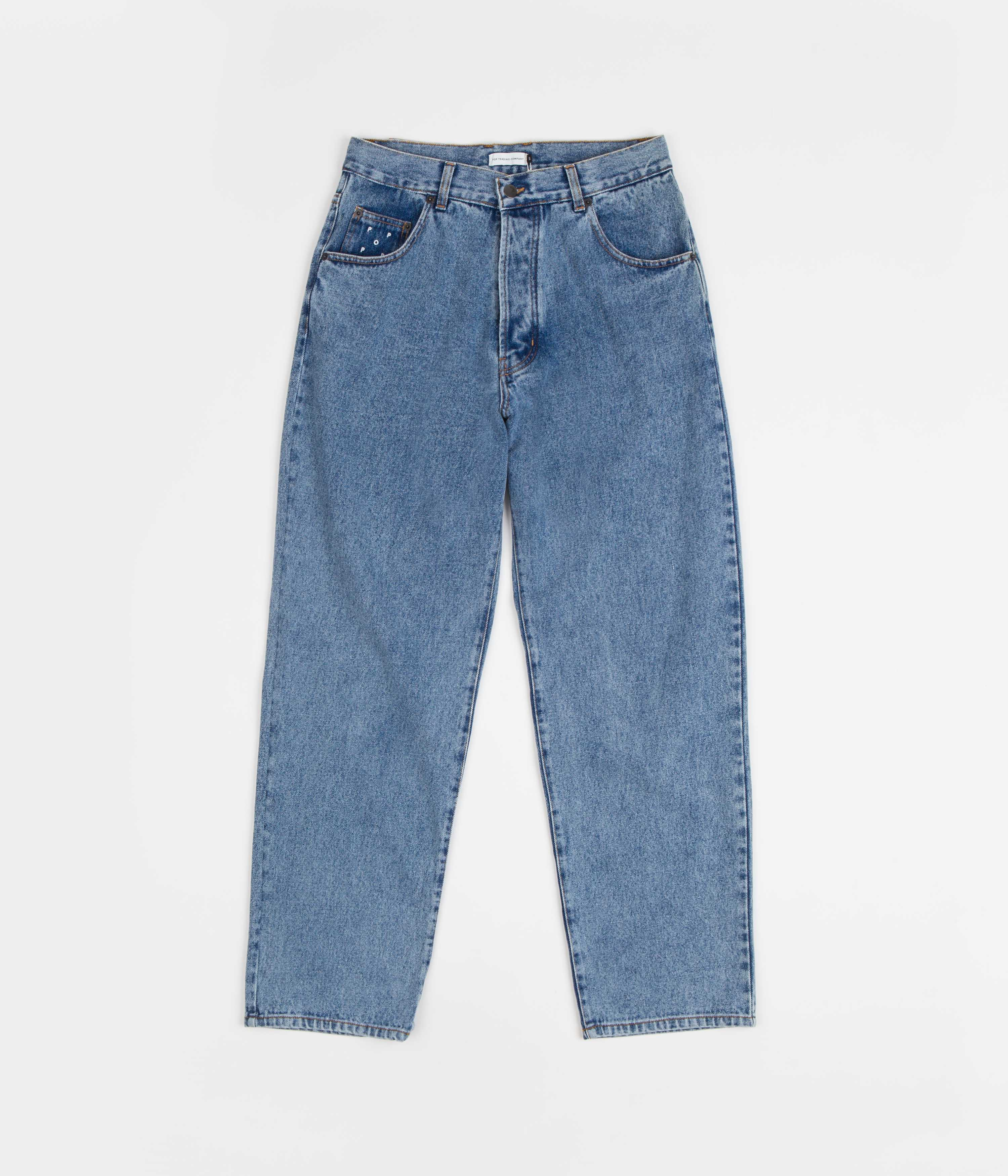 Pop Trading Company DRS Denim Pants - Stonewashed