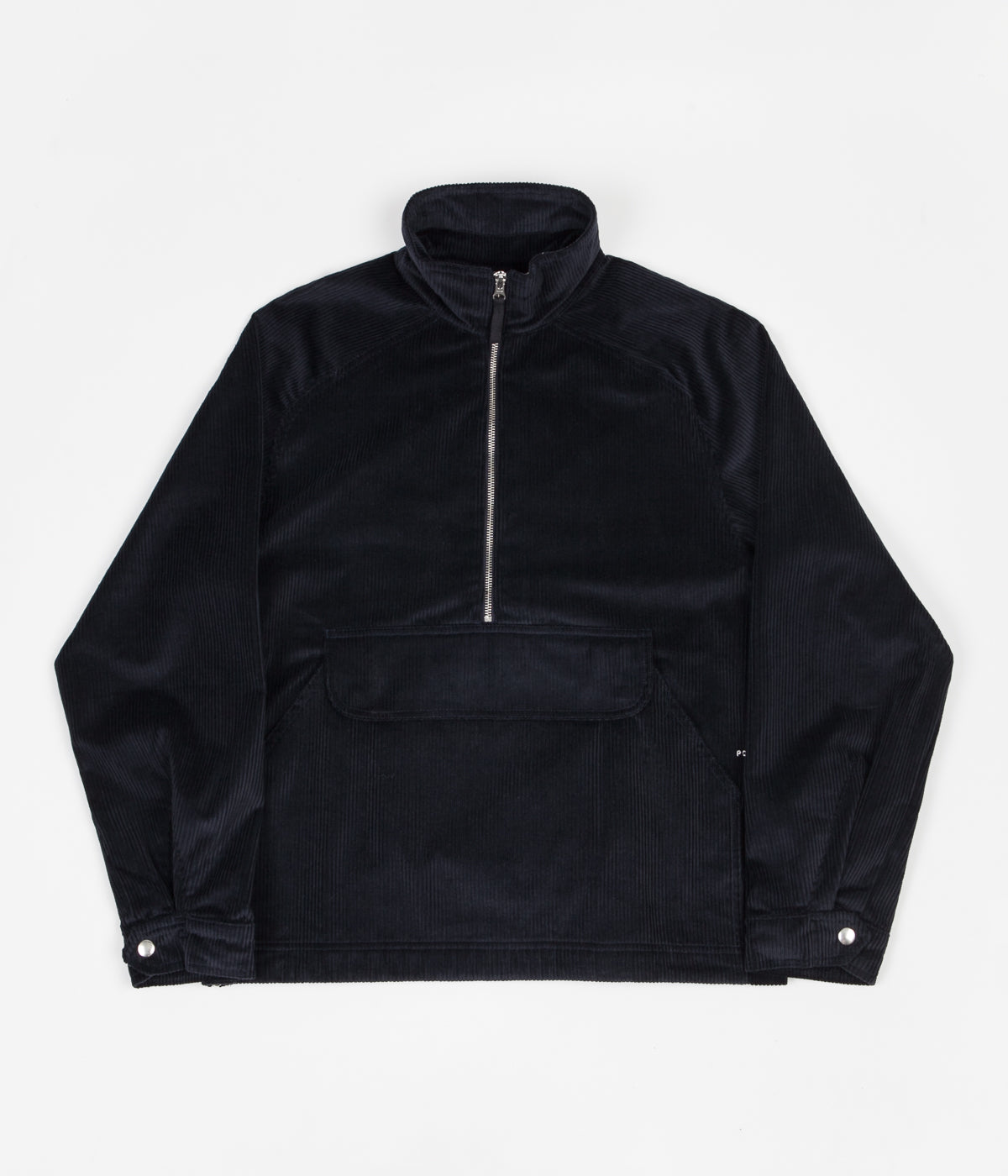Pop Trading Company DRS Half Zip Jacket - Navy