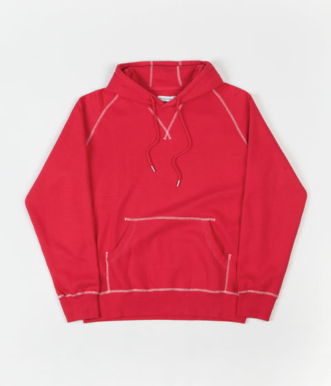 Pop Trading Company Logo Hoodie - Coral