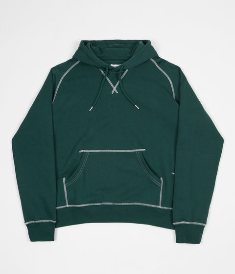 Pop Trading Company Logo Hoodie - Sports Green