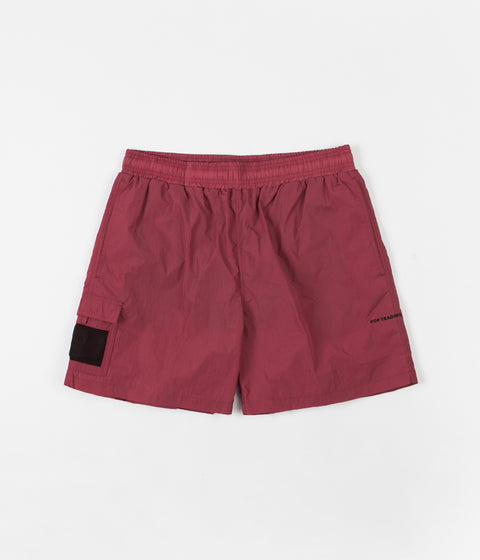 Pop Trading Company Painter Shorts - Coral