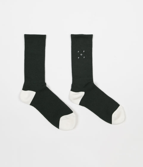 Pop Trading Company Sport Socks - Sports Green