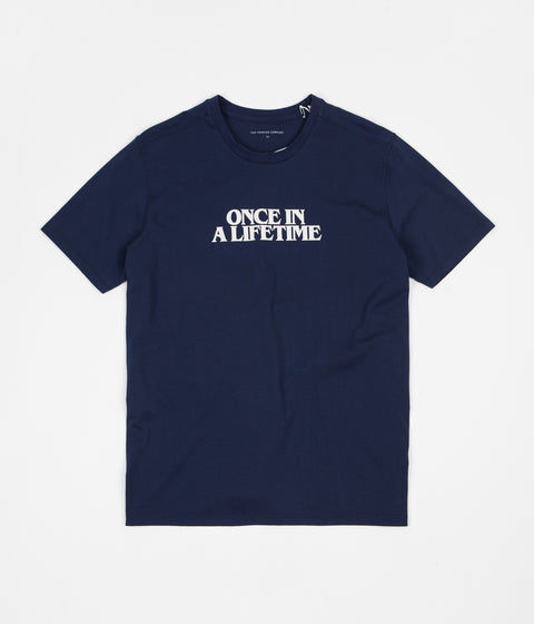 Pop Trading Company Talking T-Shirt - Navy
