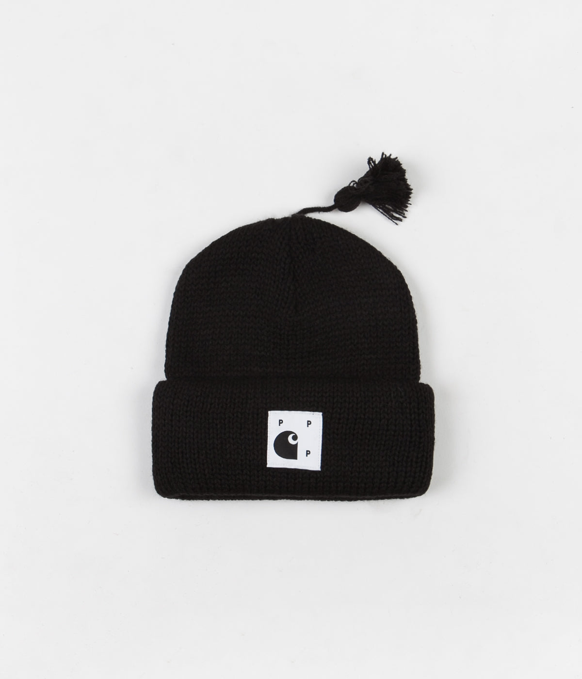 Pop Trading Company x Carhartt Watch Hat - Black