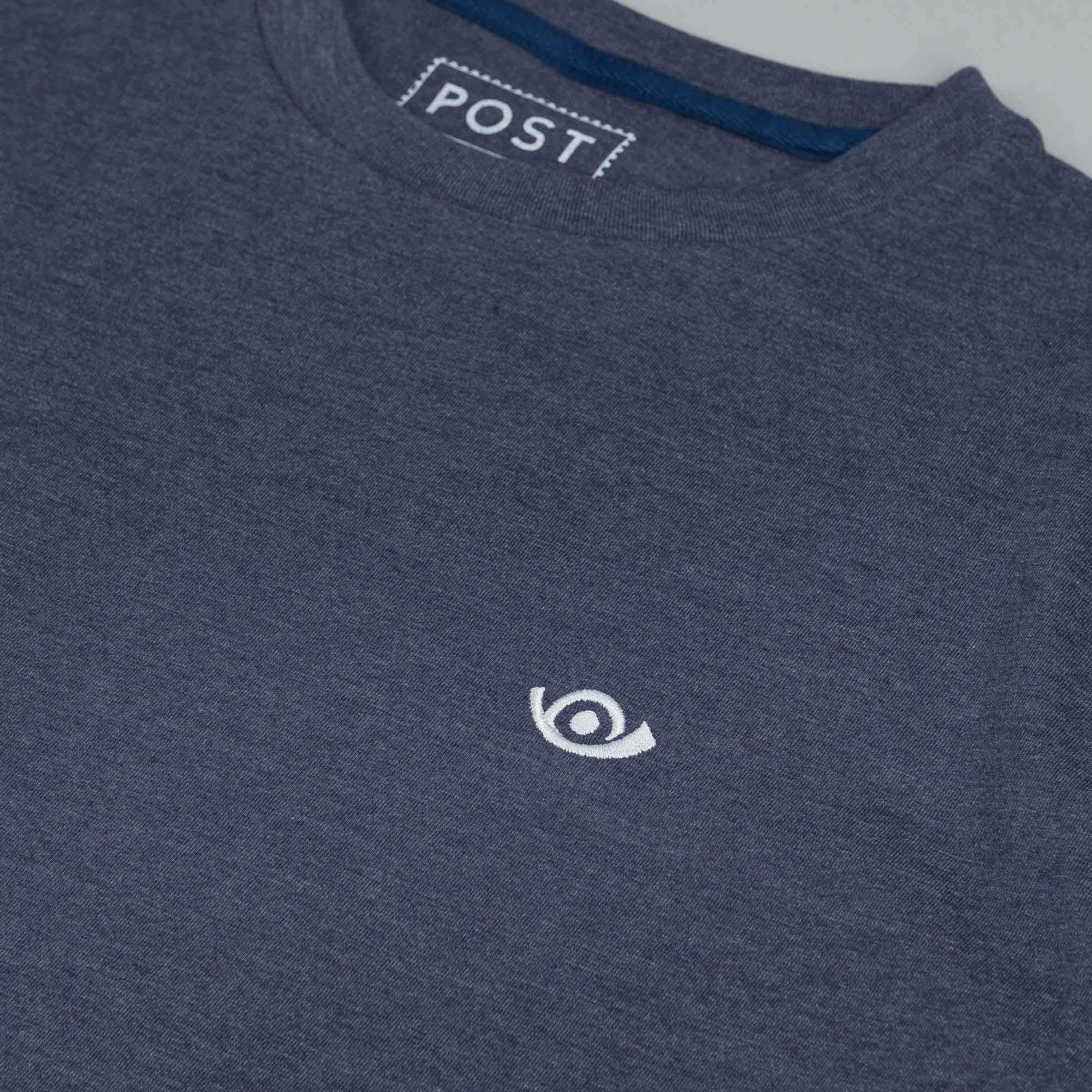 Post 90s T-Shirt Heather Blue