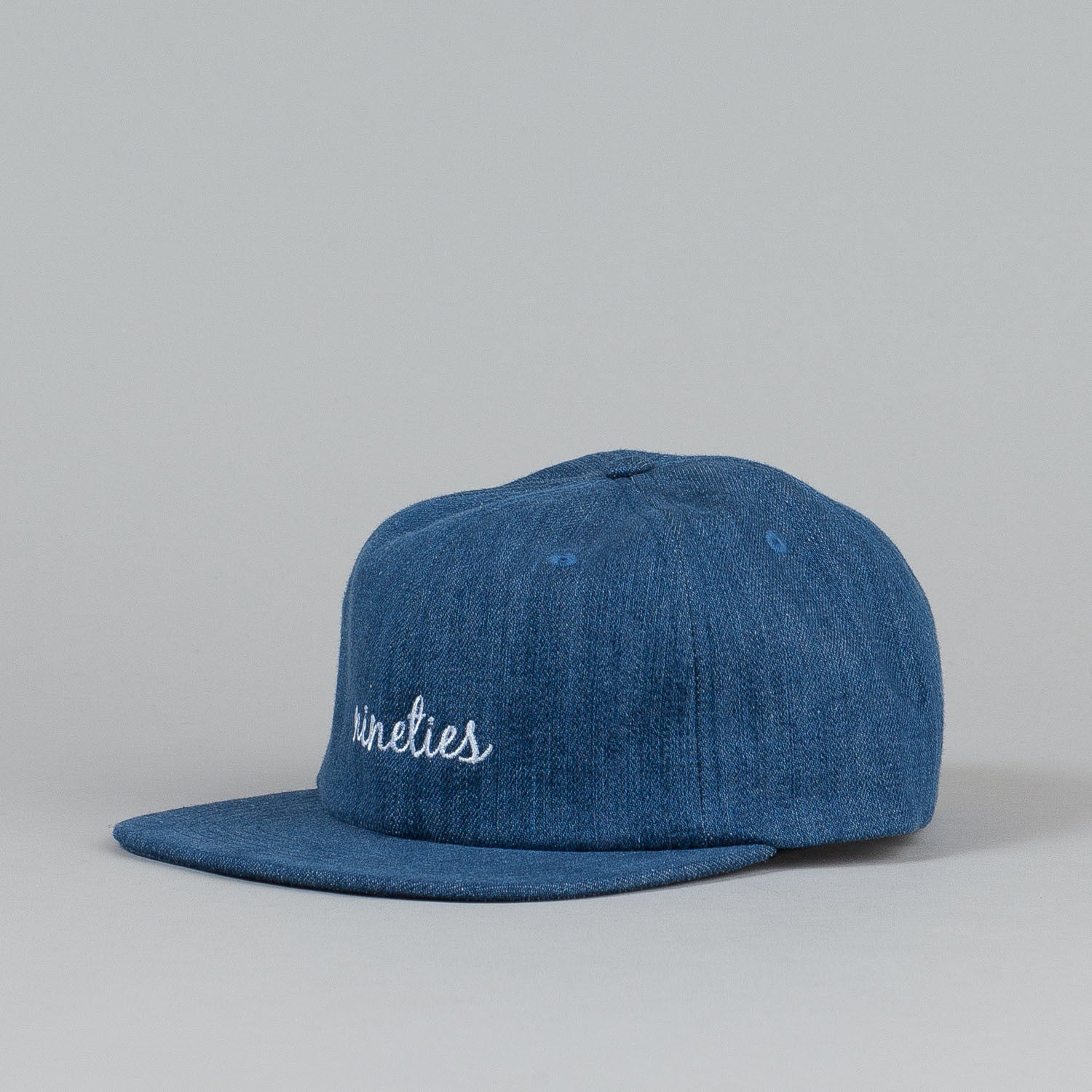 Post Antifit 90's 6 Panel Denim Cap Navy