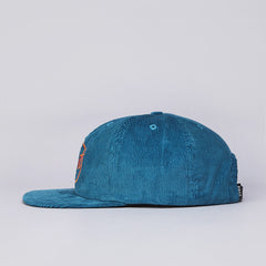 Post Antifit Athletic Circle 6 Panel Cap Teal