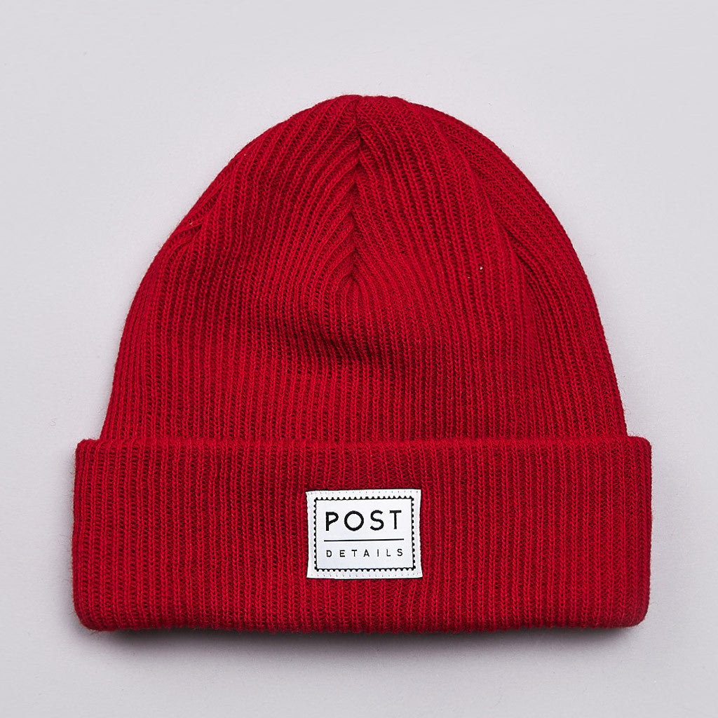 Post Classic Beanie Fire Red