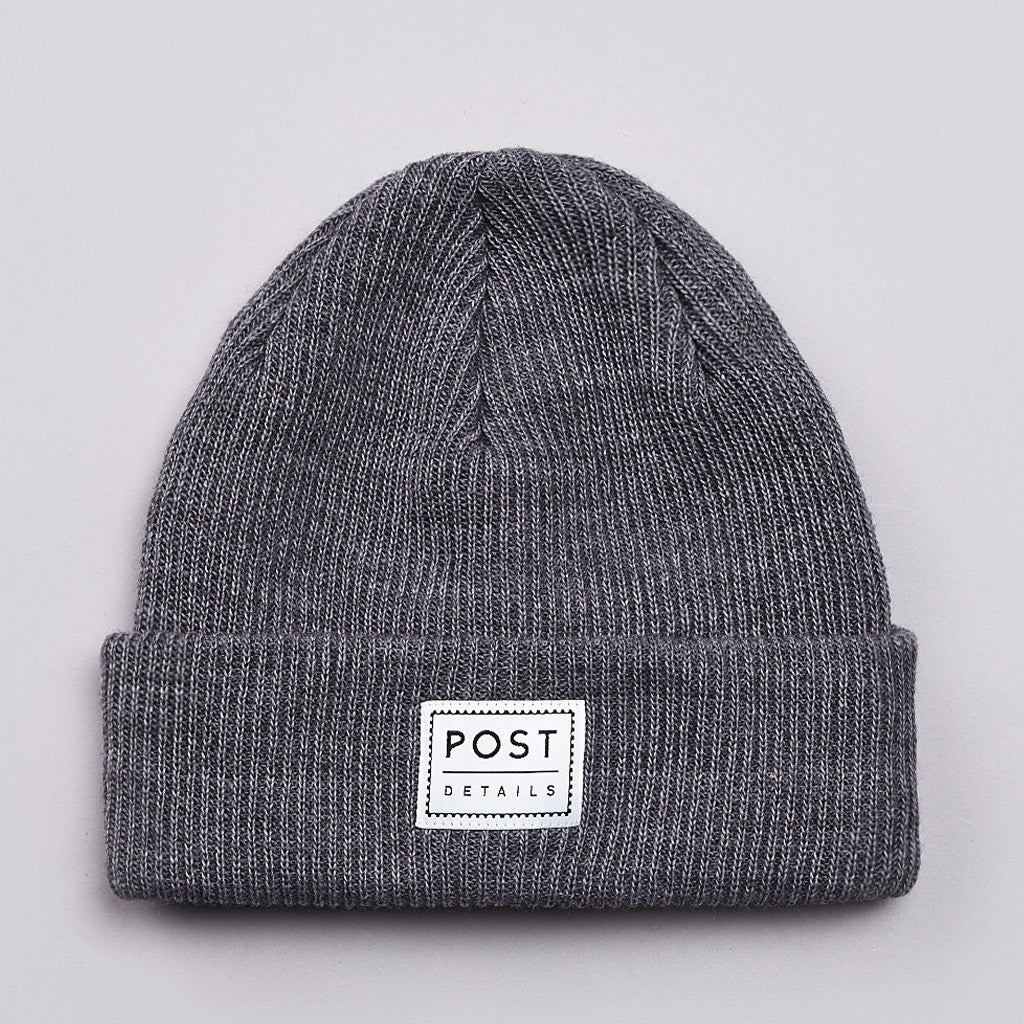Post Classic Beanie Warm Grey
