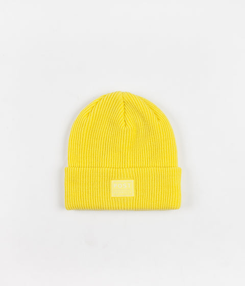 Post Details ABC Classic Beanie - Lemon Yellow