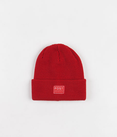 Post Details ABC Classic Beanie - Scarlet Red