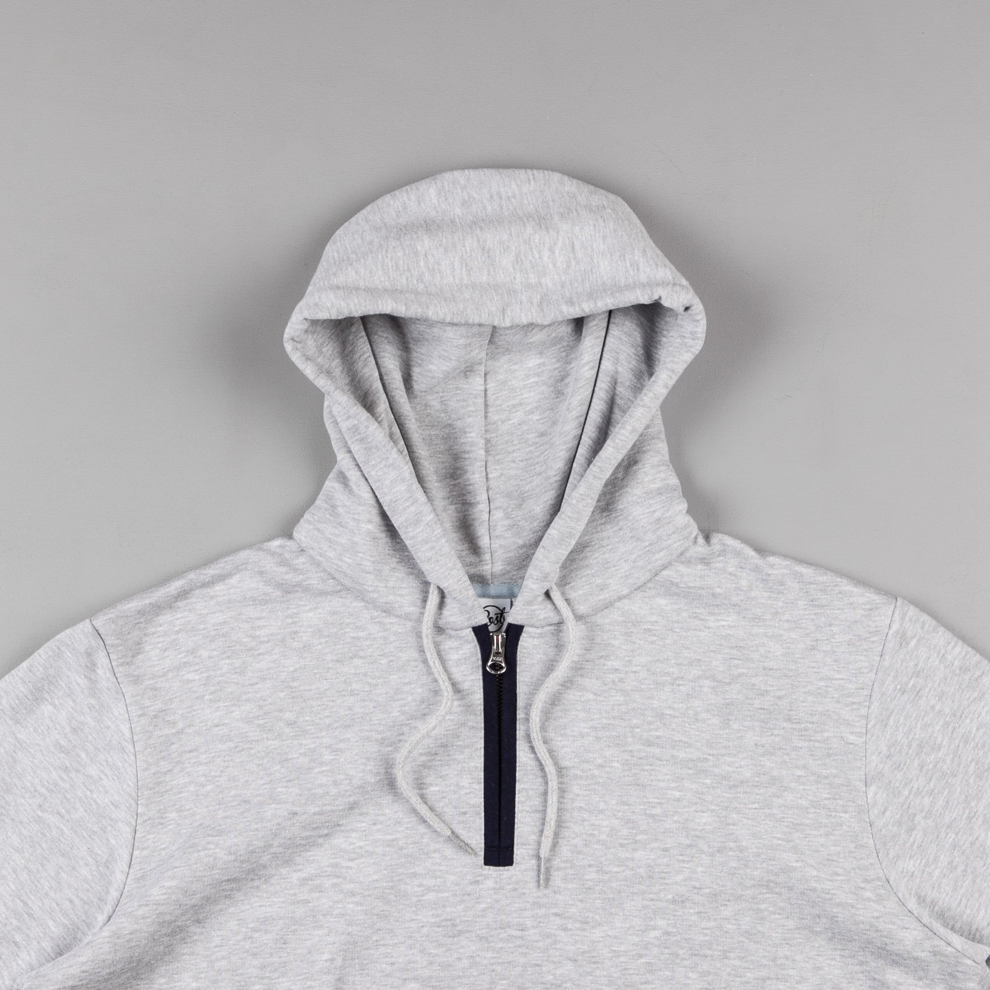 Post Details Decades Ball Back Hooded Sweatshirt - Heather Grey