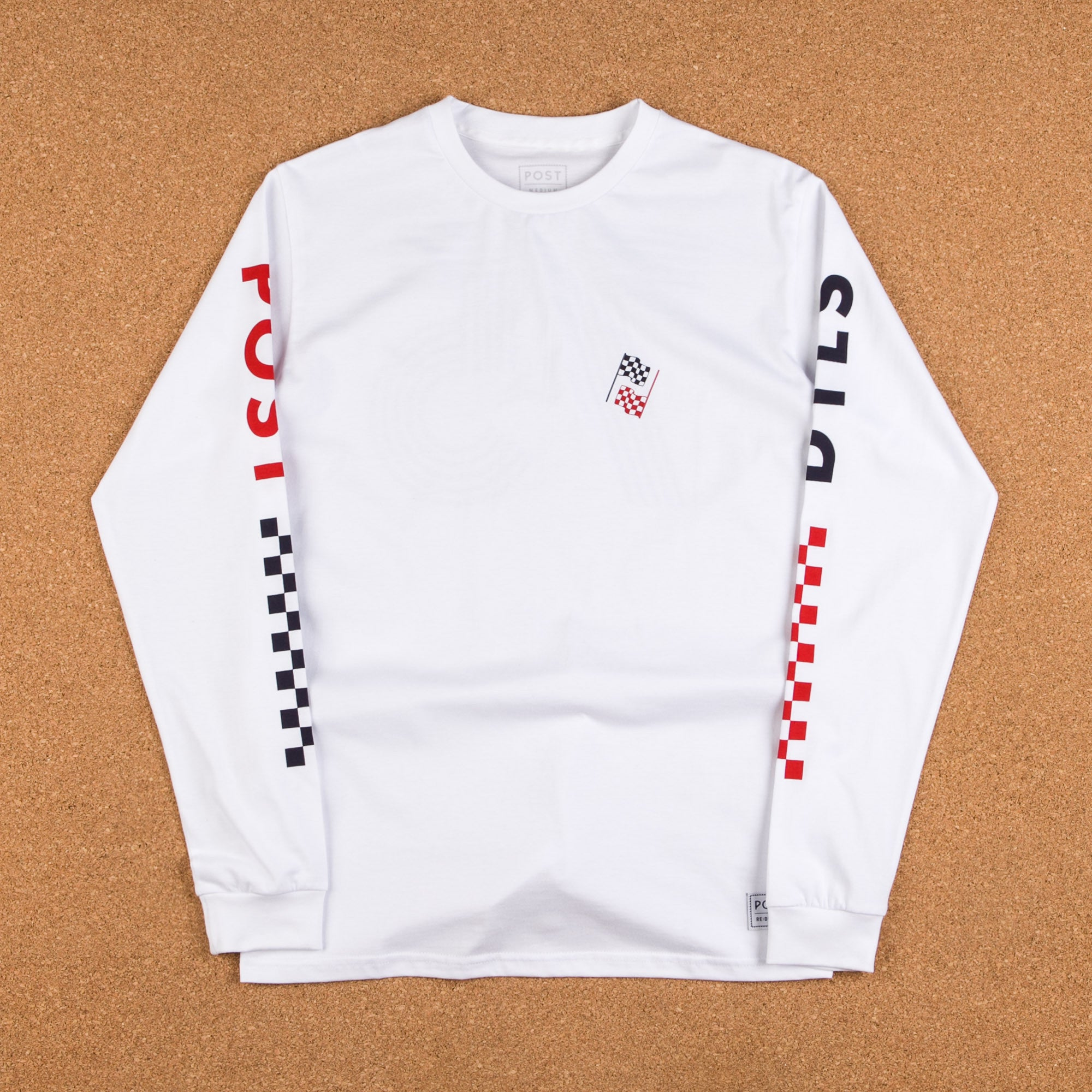Post Details Decades Class Of '75 Long Sleeve T-Shirt - White
