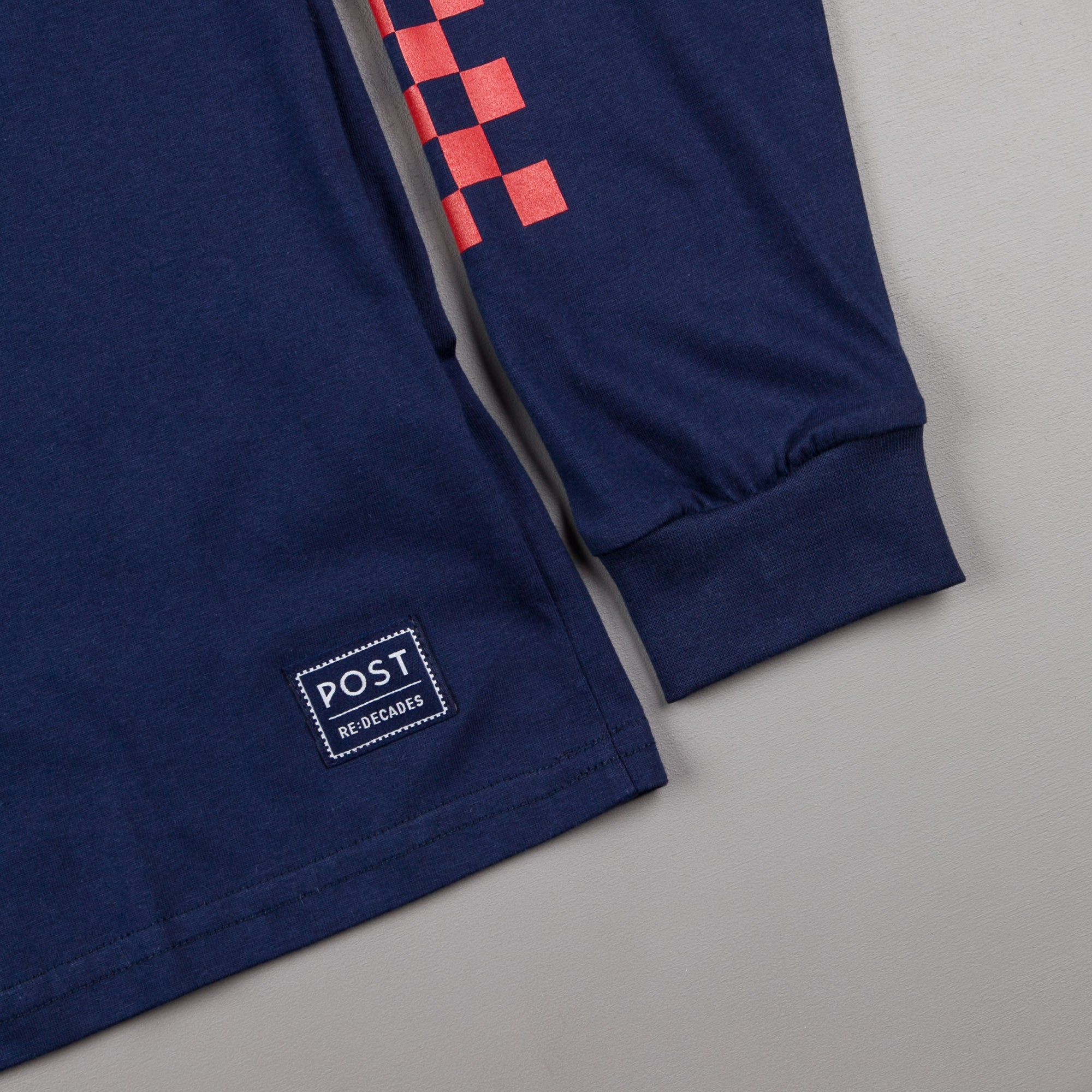 Post Details Decades Class Of '78 Long Sleeve T-Shirt - Navy