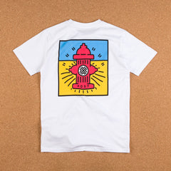 Post Details Decades Pop Hydrant T-Shirt - White
