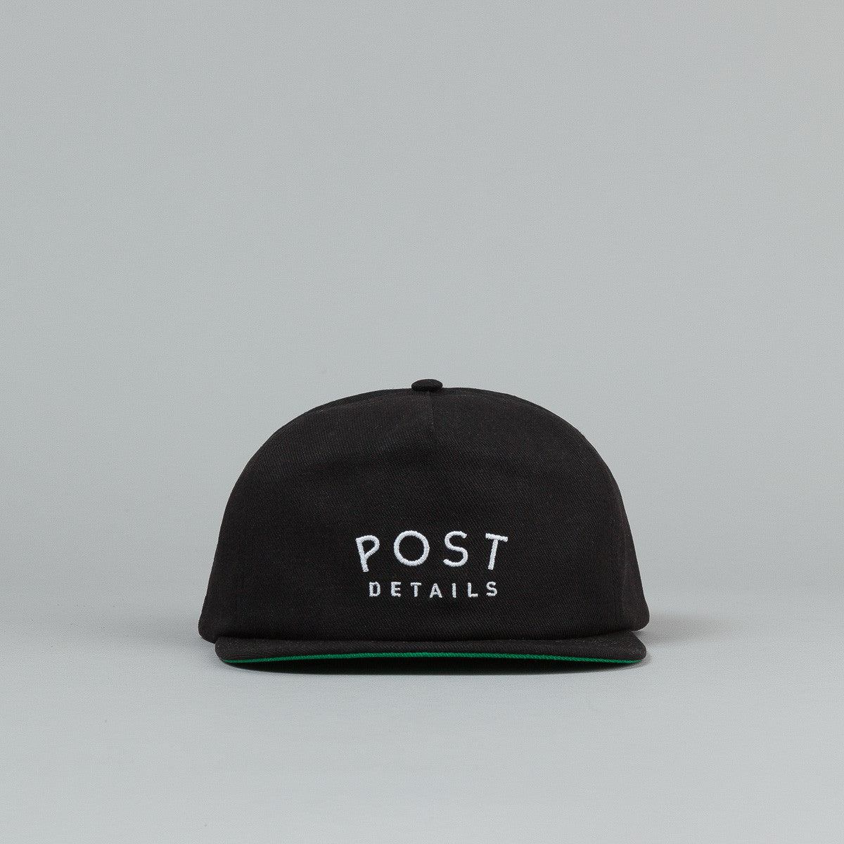 Post Details Standard Antifit Snapback Cap - Black