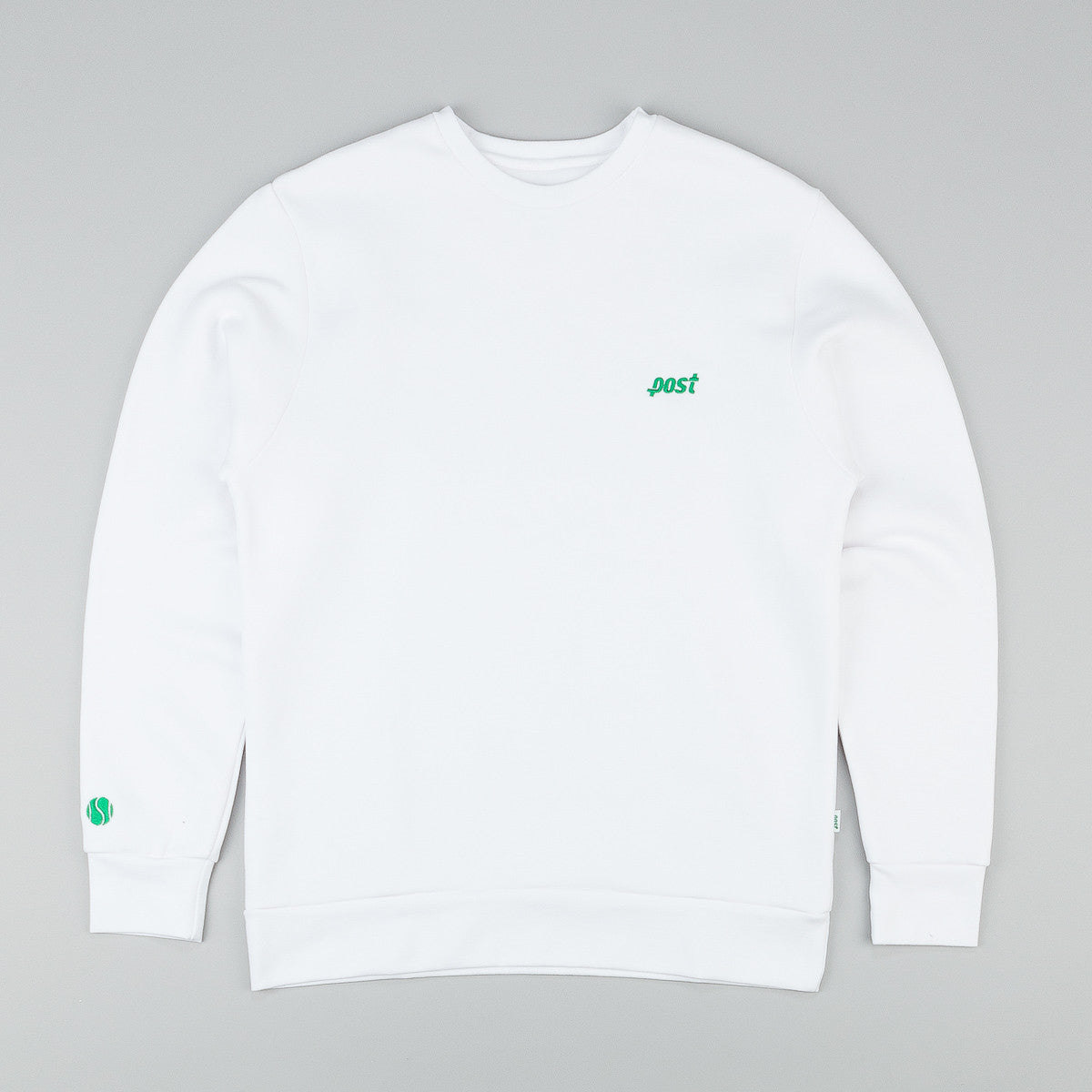 Post Details Tennis Anyone Crew Neck Sweatshirt
