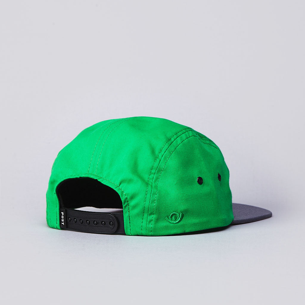 Post Team 5 Panel Cap Green