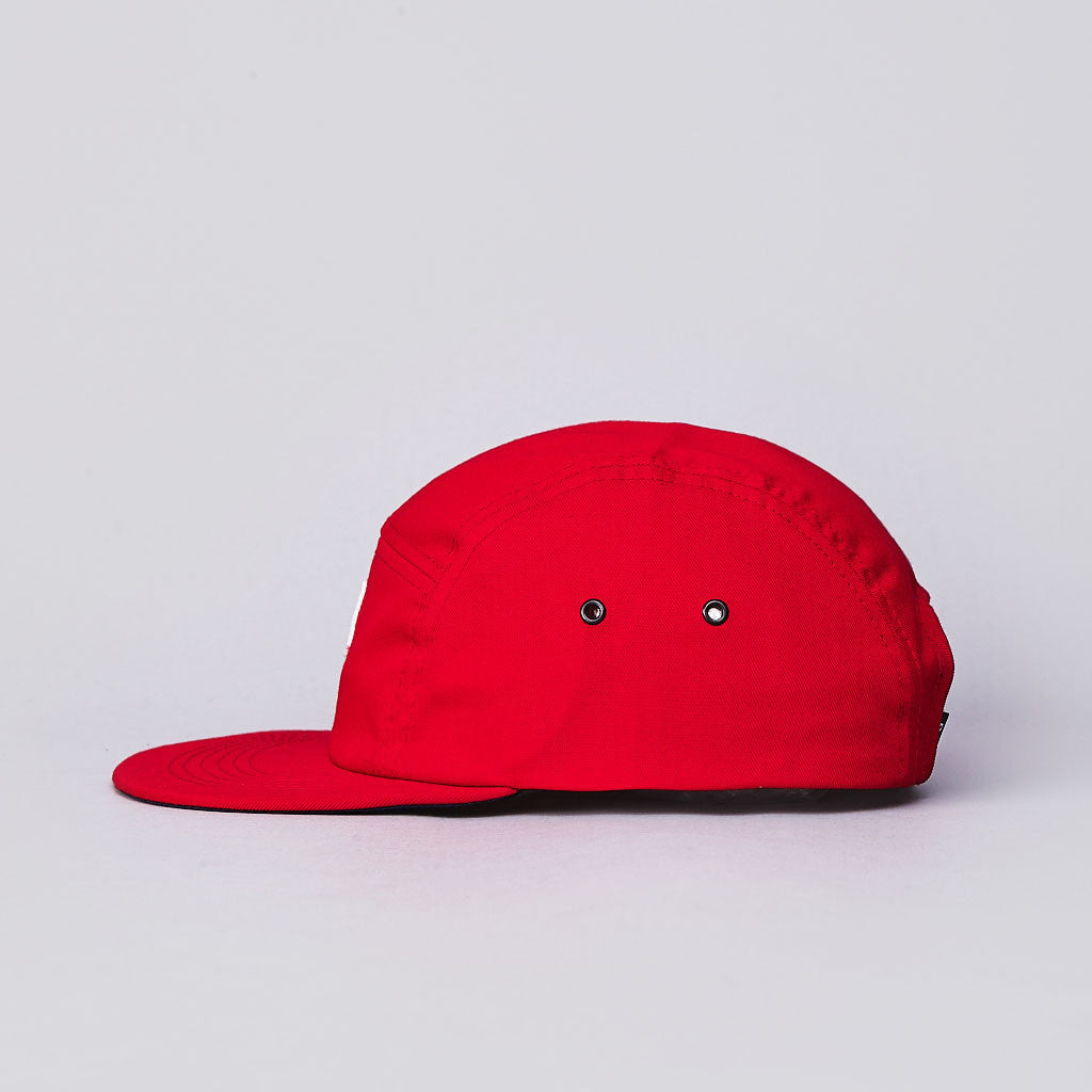 Post Team 5 Panel Cap Red