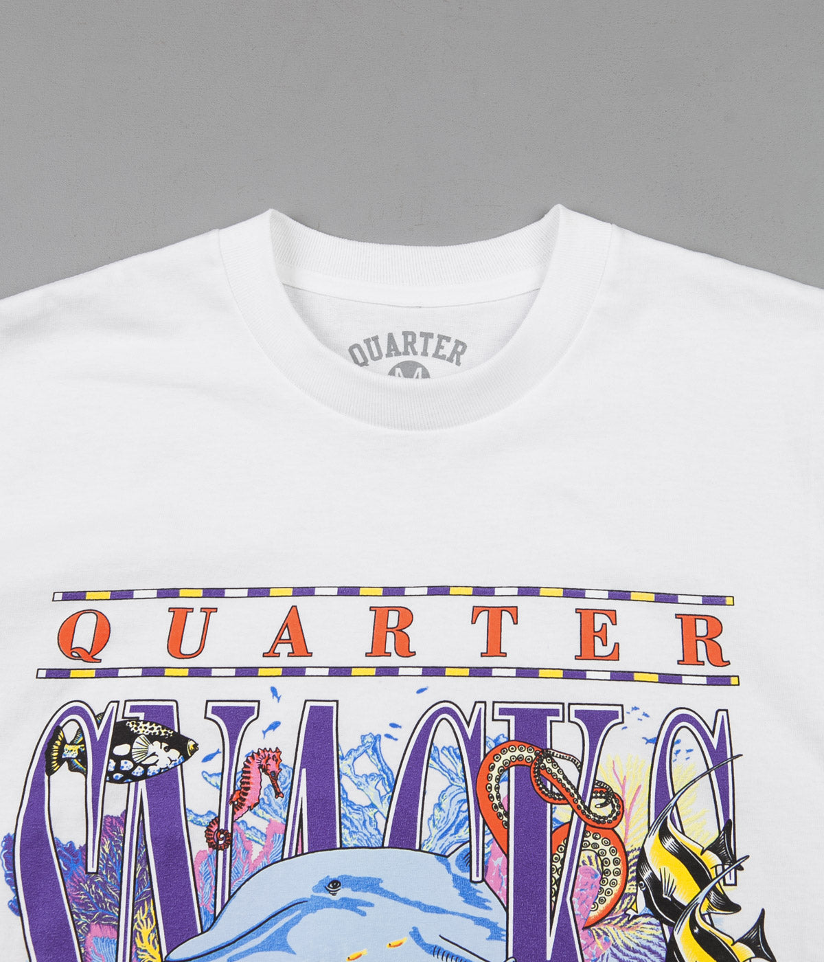 Quartersnacks Always Current T-Shirt - White