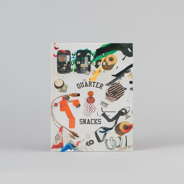 Quartersnacks TF at 1 : 10 Years of Quartersnacks Hardback Book