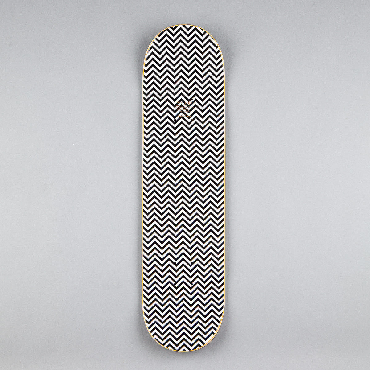 Quasi Blue Rose Deck - Black - 8""