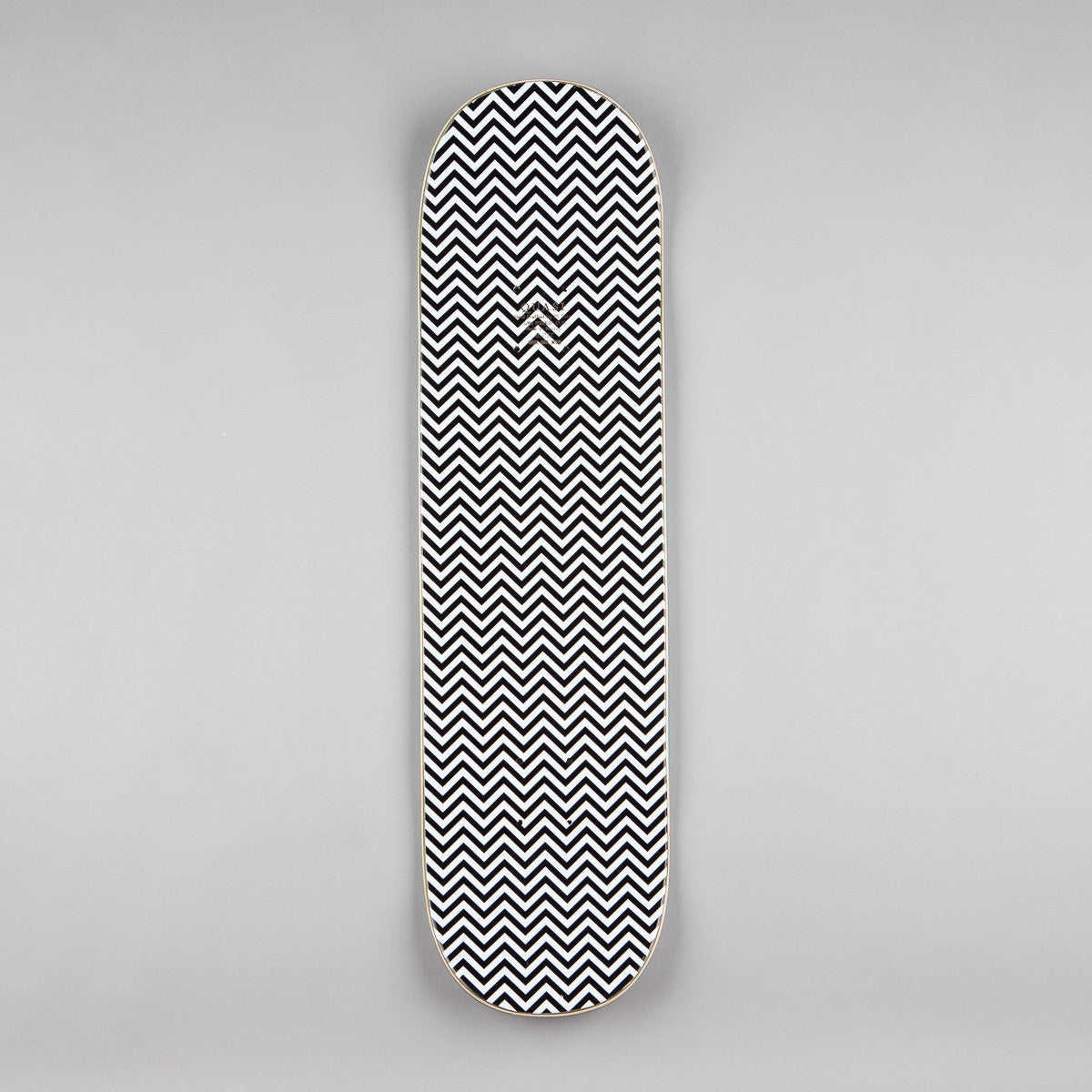 Quasi Blue Rose Deck - White - 8.25""
