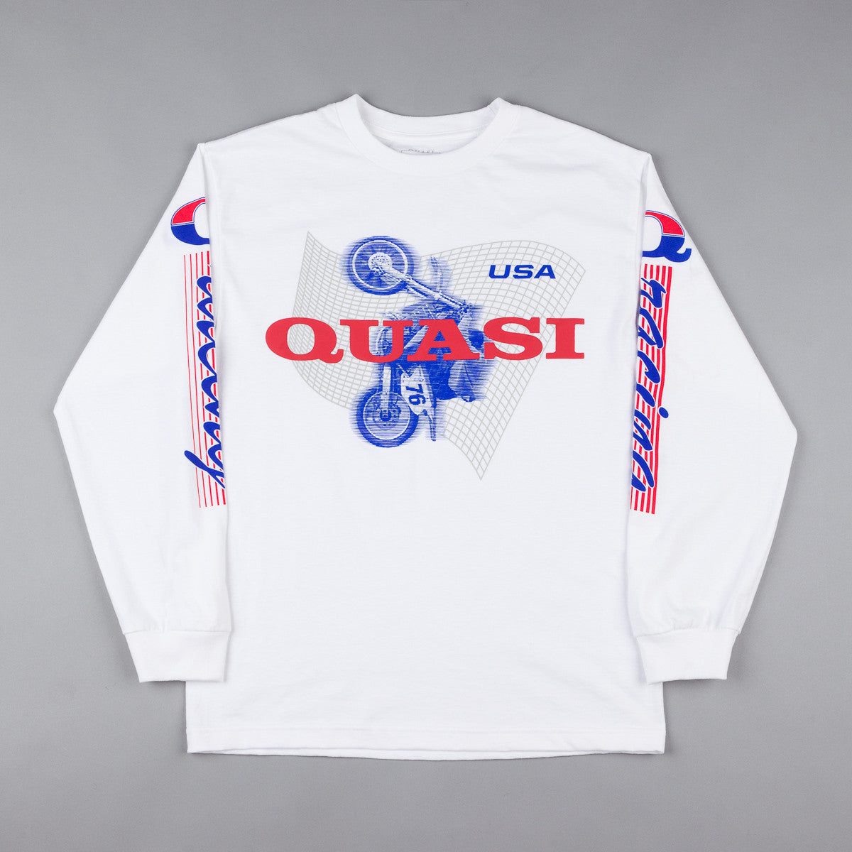 Quasi Clocked Long Sleeve T-shirt