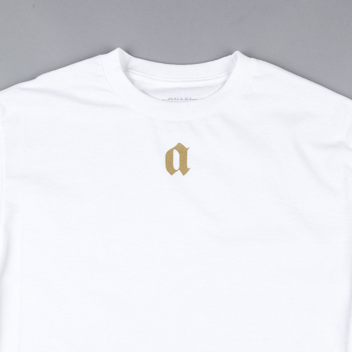 Quasi Coast 2 Coast Long Sleeve T-Shirt - White / Gold