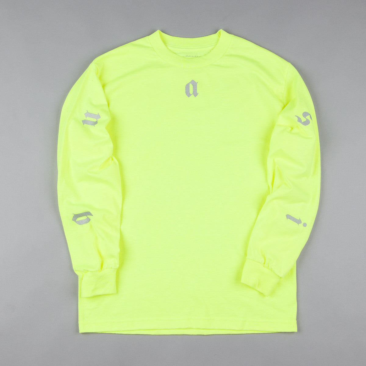 Quasi Coast 2 Coast Long Sleeve T-Shirt - Yellow / Silver