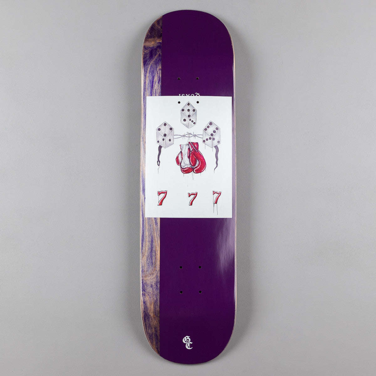 Quasi Crockett Rust [One] Deck - Purple - 8.25""