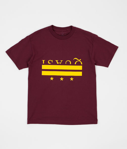 Quasi District T-Shirt - Burgundy