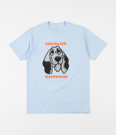 Quasi Happiness T-Shirt - Powder Blue