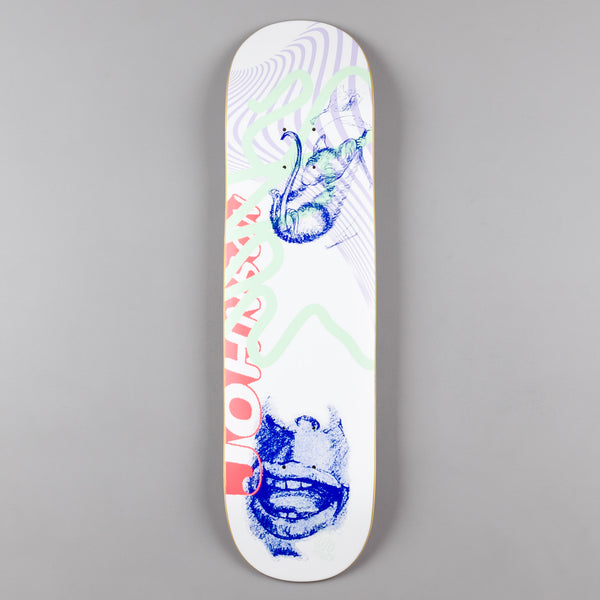 Quasi Johnson Jacob [One] Deck - Powder - 8.25""