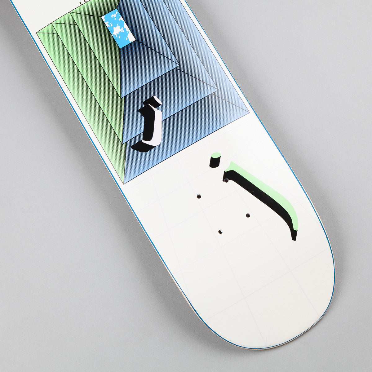 Quasi Johnson N.O.S Deck - Creme - 8.25""