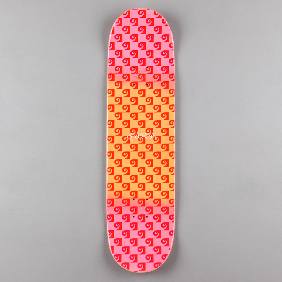 Quasi Johnson Untitled [Two] Deck - Pink - 8.375""
