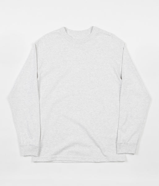 Quasi Mono Long Sleeve T-Shirt - Ash