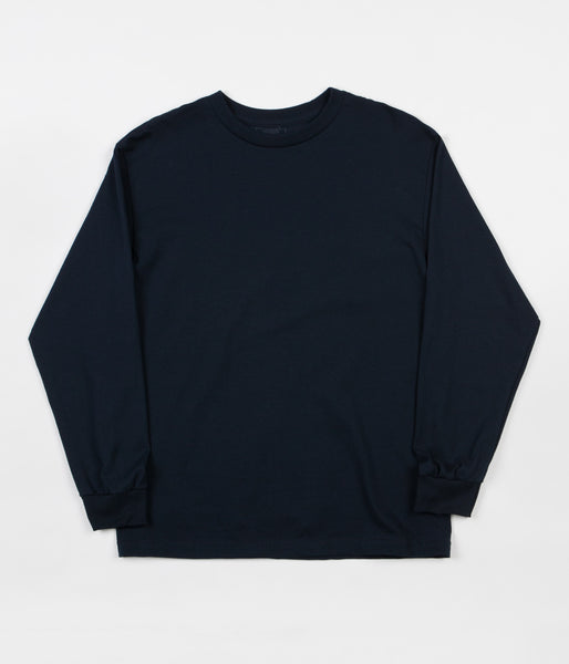 Quasi Mono Long Sleeve T-Shirt - Navy