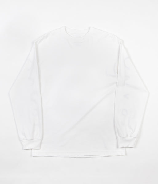 Quasi Mono Long Sleeve T-Shirt - White