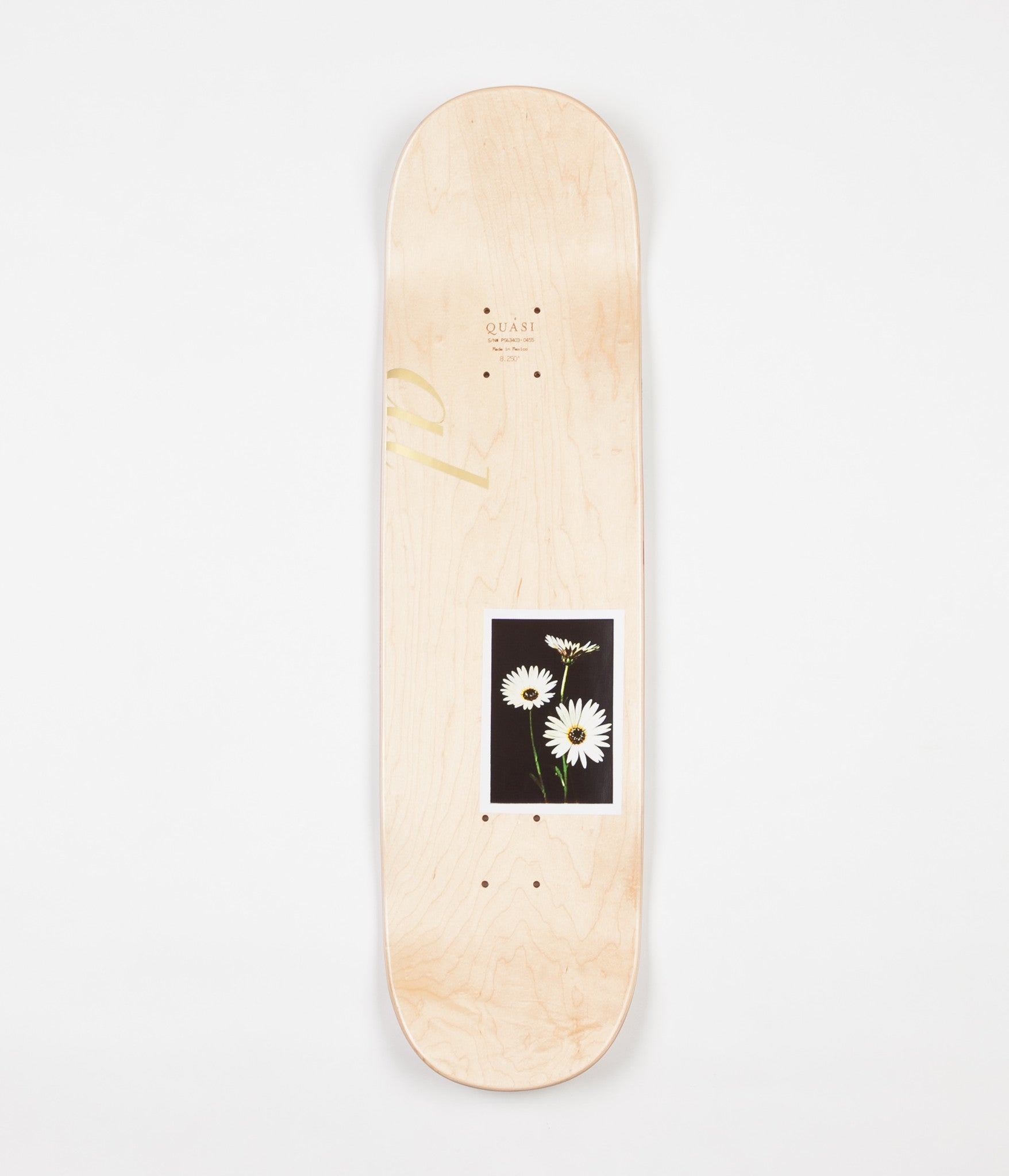 Quasi New Pro Mother Two Deck - Natural - 8.25""