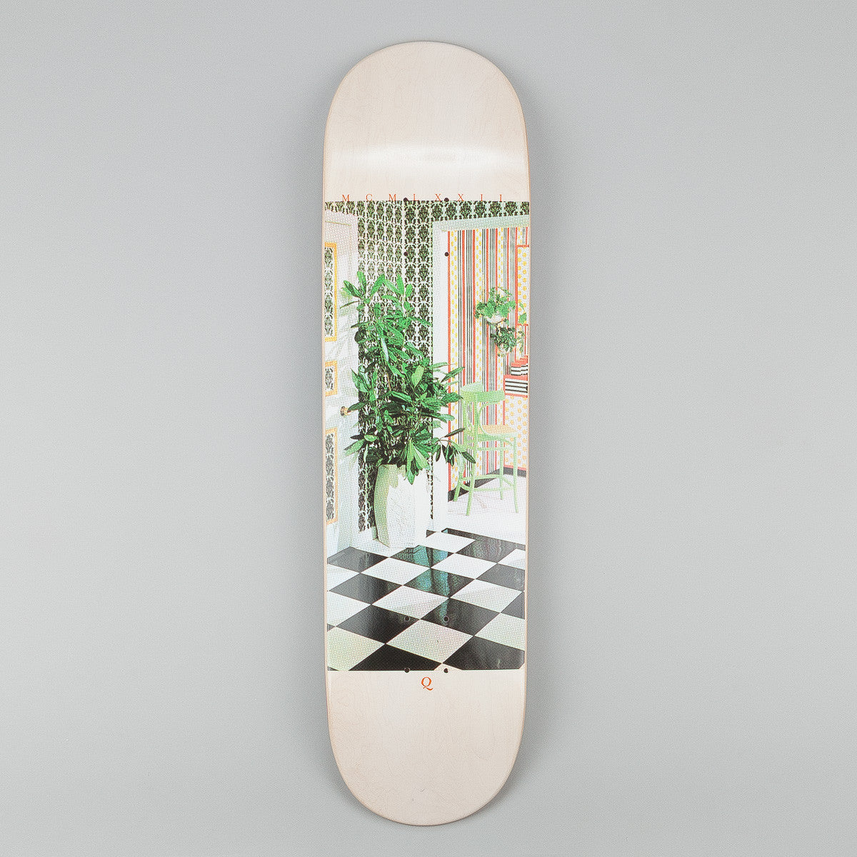 Quasi Skateboards 1972 White Wash Deck