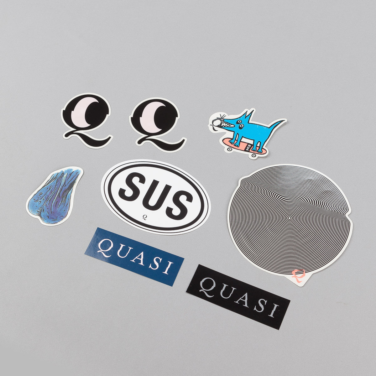 "Quasi Skateboards 7"" Sticker Pack"