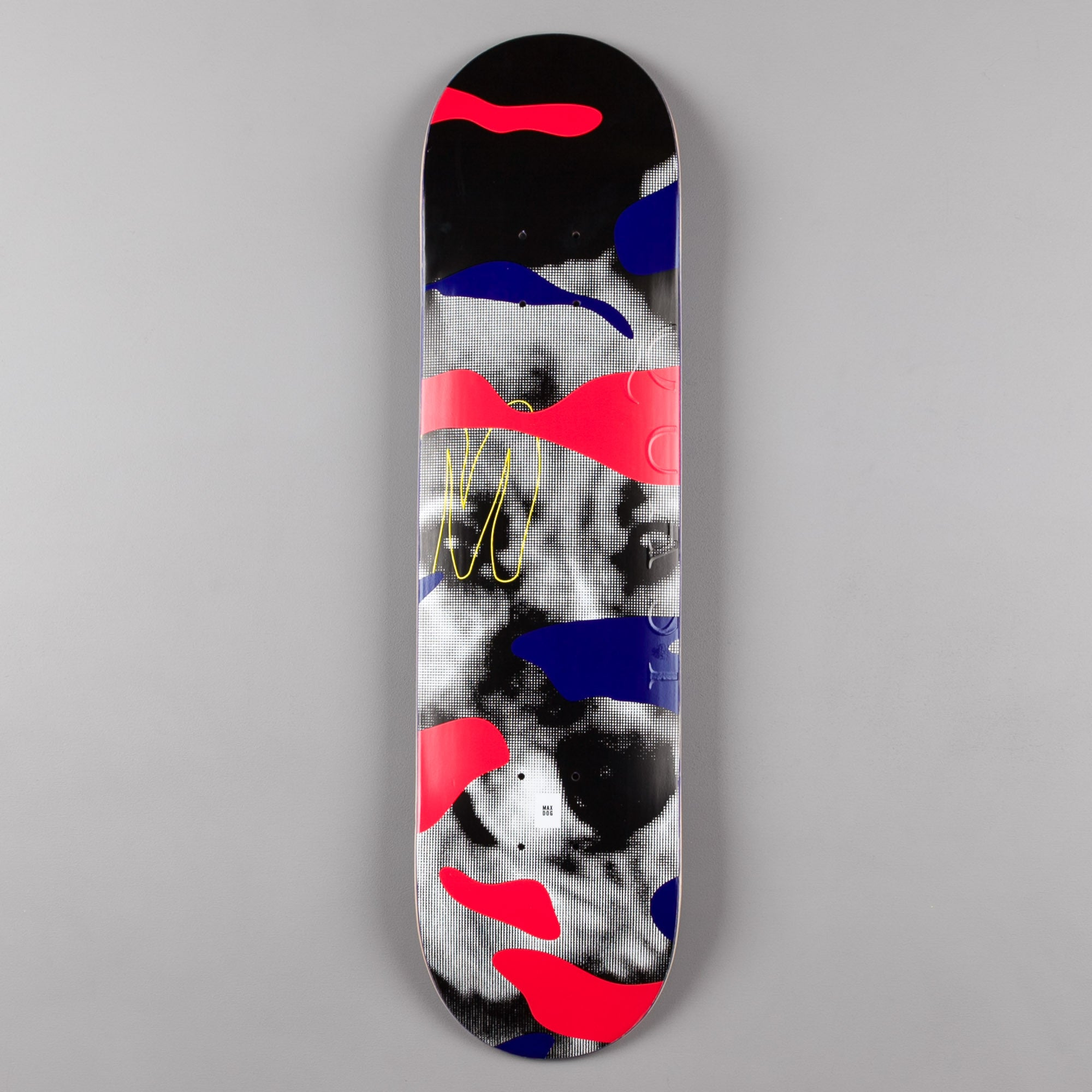 Quasi Skateboards Crockett Maxdog (One) Deck - Red - 8.00""