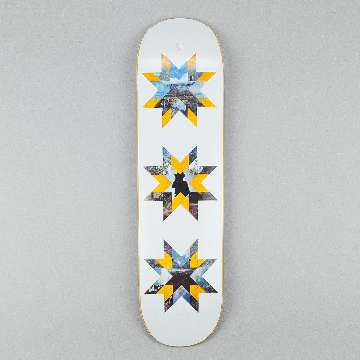 Quasi Skateboards Crockett 'Quilt' [One} Deck