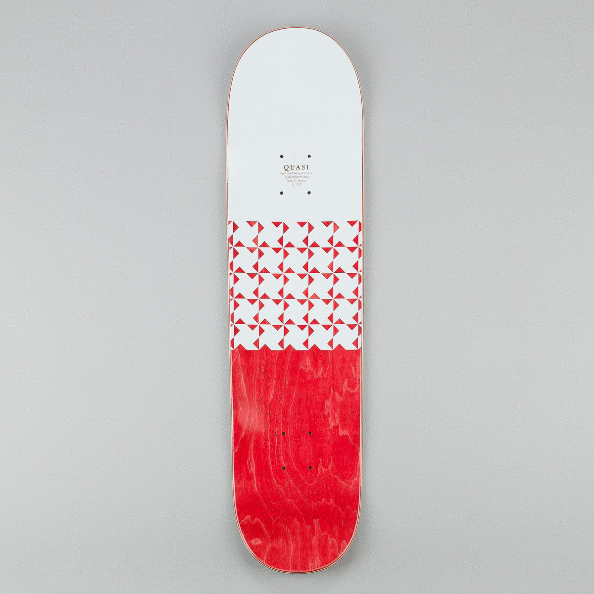 Quasi Skateboards Crockett 'Quilt' [One} Deck - Yellow - 8.25""