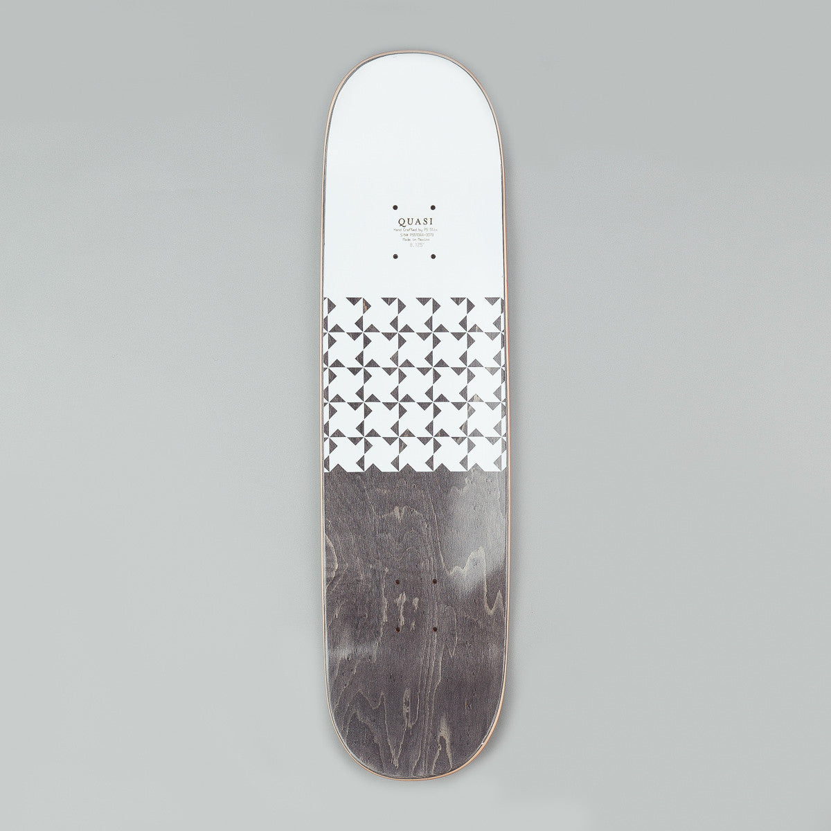 Quasi Skateboards Crockett 'Quilt' [One] Deck - Natural 8.125""