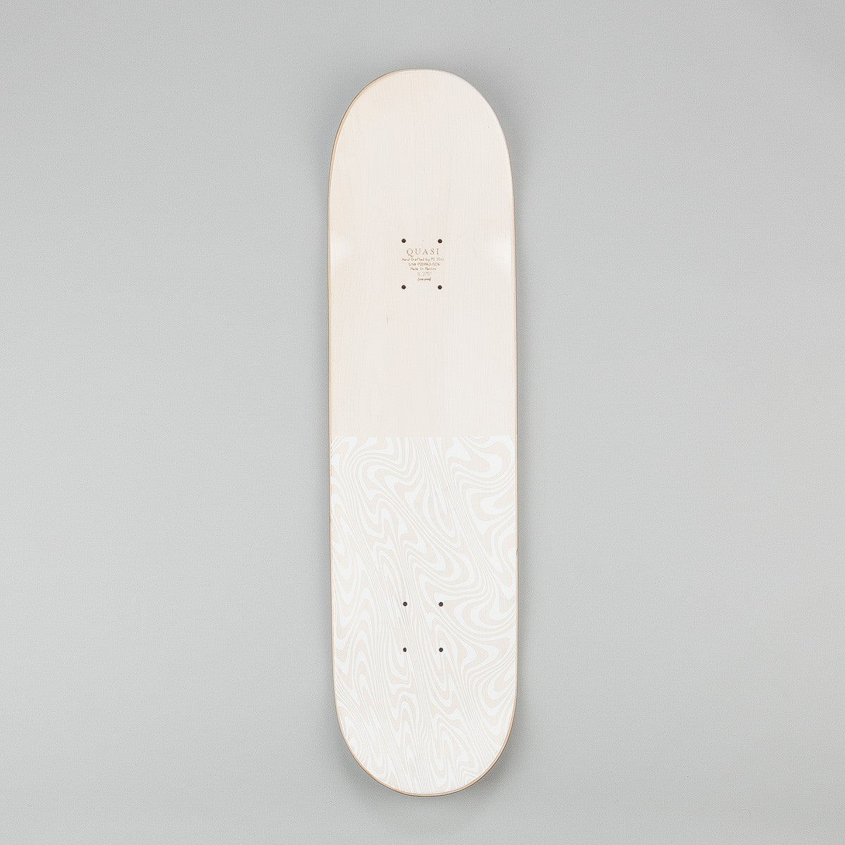 Quasi Skateboards Dior Deck - Whitewash 8.125""
