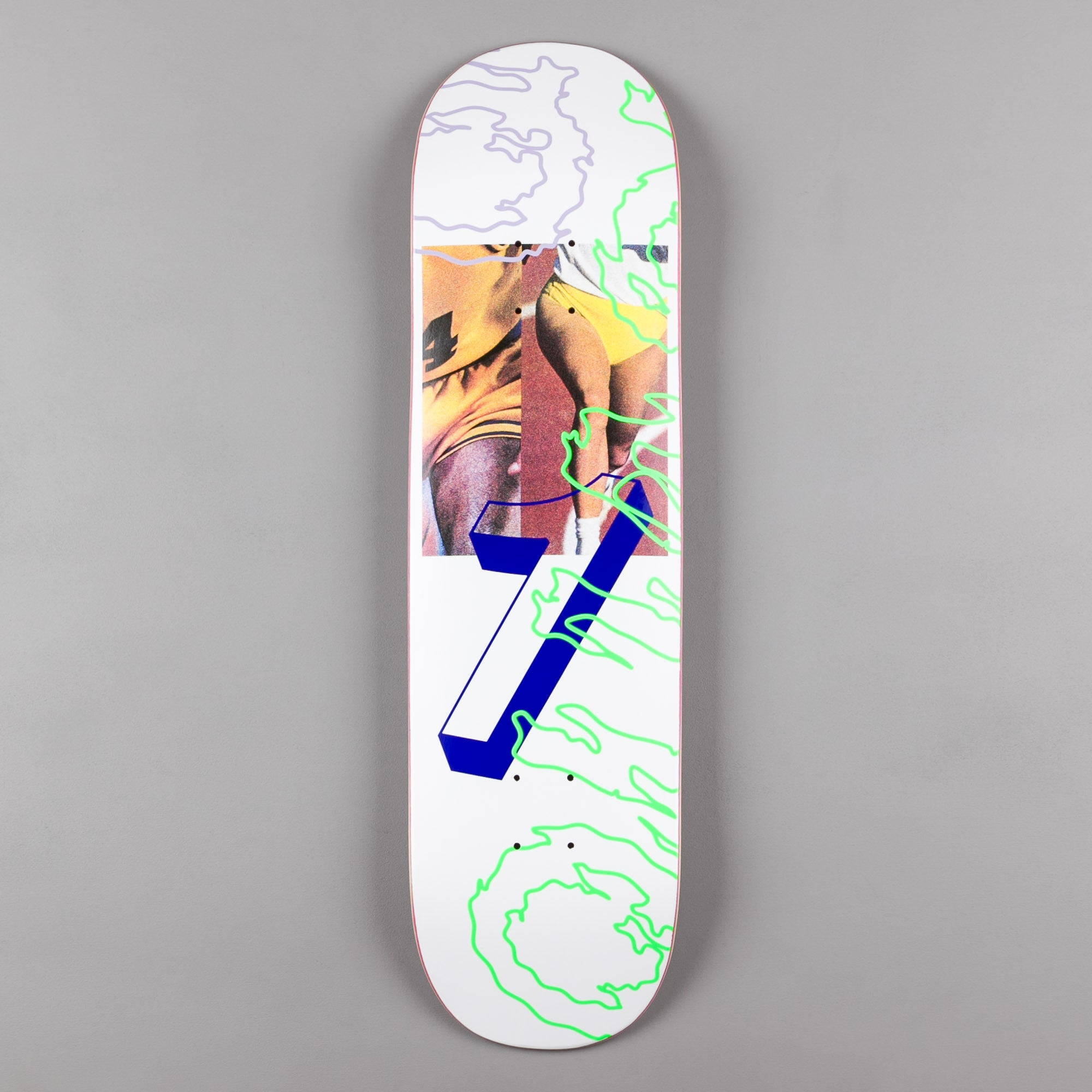 "Quasi Skateboards Games Deck - 8.25"" - White"